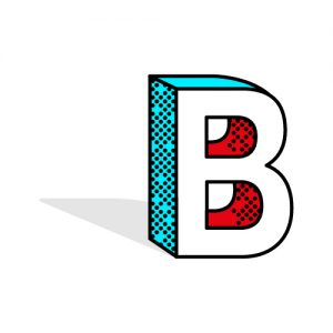 b for beta
